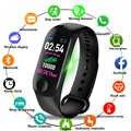 M3plus Smart Smart-Armband-Armband mit Extra Band Smart Band Herz Rate Aktivität Fitness Tracker Smart Uhr