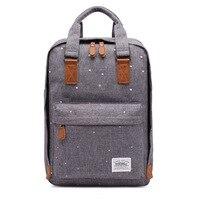 Рюкзак  Стильный Холщовый Школьный рюкзак  дорожный облегченный рюкзак  школьные сумки для девочек-подростков