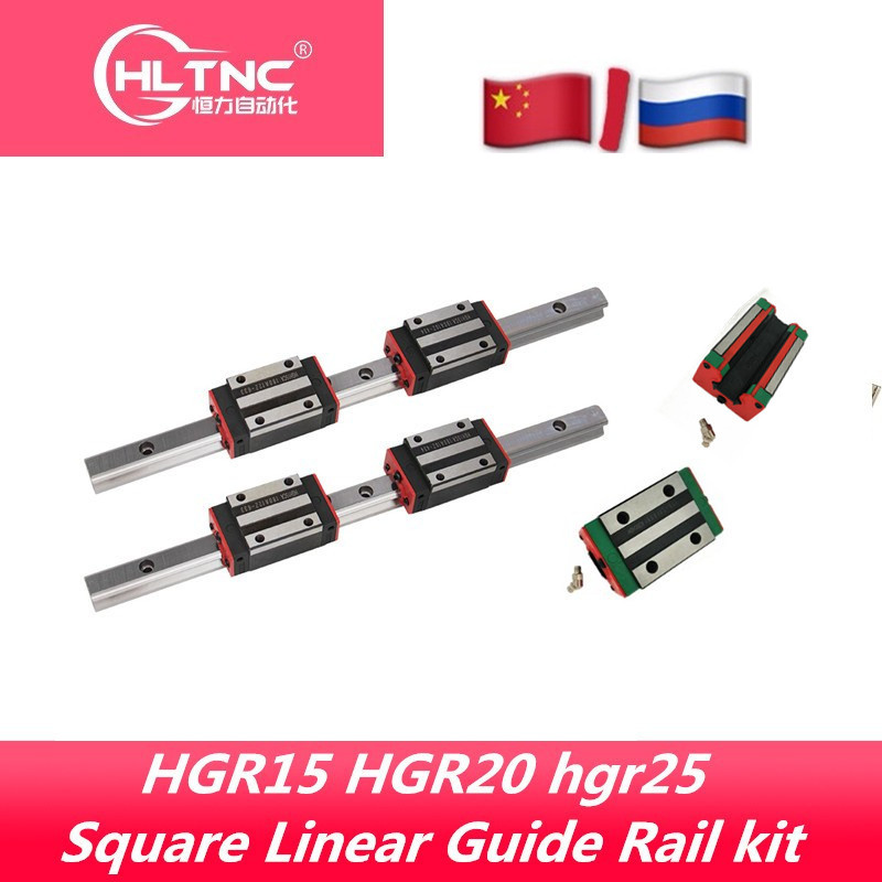 Linear-Guide Cnc Router Rail-W Engraving HGW25CA Hgh20ca HGH15CA HGR15 HGR20 Square HGW15CC