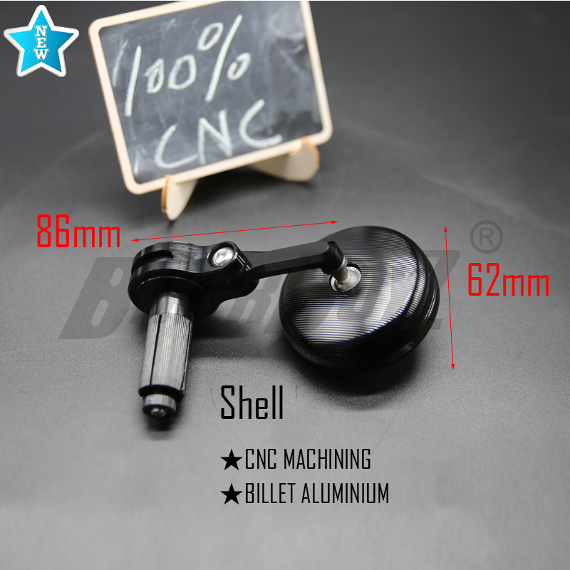 Image 2 - 2019 New 7/8 22mm Universal 1 pair CNC Motorcycle Bar End 