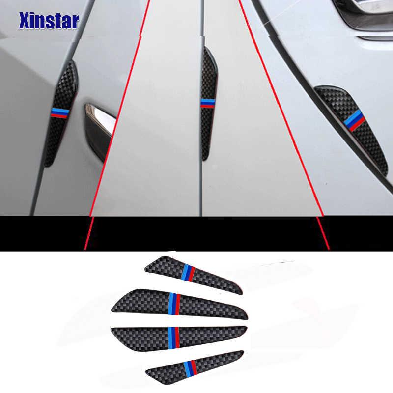 4pcs 자동 자동차 도어 가드 모서리 BMW E30 E36 E39 E46 E53 E60 E64 E70 E83 E85 E87 E90 E92 E71