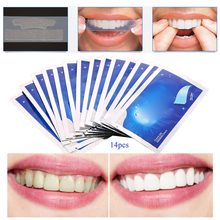 цена 28Pcs/14Pair Gel Teeth Whitening Strips Tooth Dental Oral Hygiene Care Teeth Strips Whitening Dental Bleaching Tools онлайн в 2017 году
