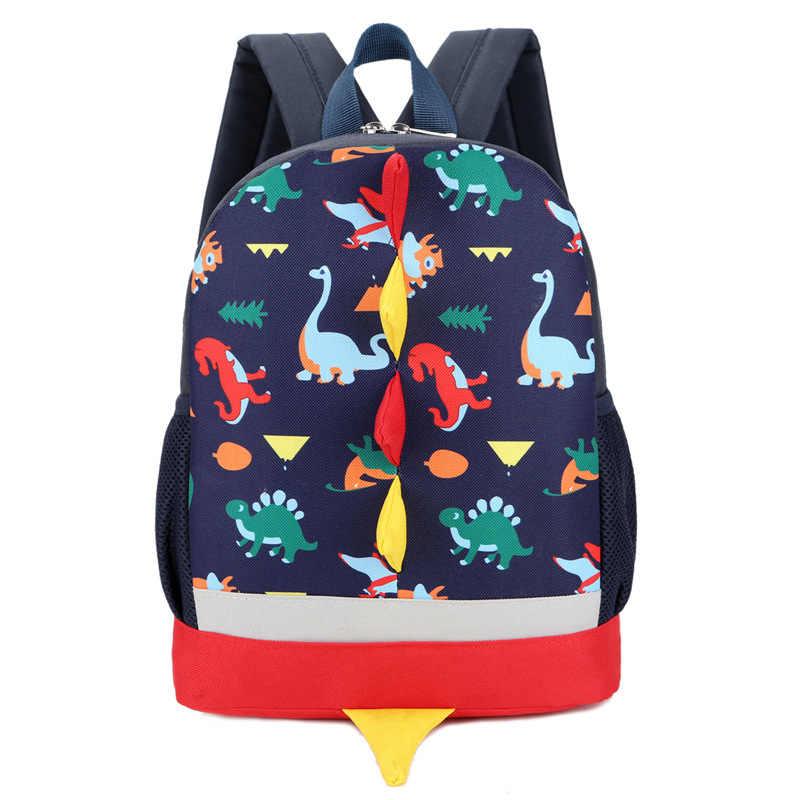 JODIMITTYChildren Tasche Niedlichen Cartoon-Dinosaurier Kinder Taschen Vorschule Rucksack Für Jungen Mädchen Baby Schule Taschen 3-4-6YearsOld