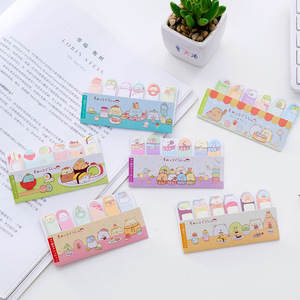 Rice Tea Play Sumikko Gurashi Memo Pad N Times Sticky Notes Escolar Papelaria School Supply Bookmark Label