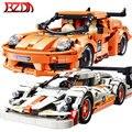 BZDA 667 PCS Stadt Technic Auto Geschwindigkeit Champion Bausteine Moc Modell Set Ziegel Auto Spielzeug Für Kinder Jungen Spielzeug geburtstag Geschenke