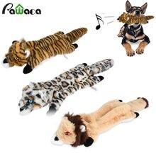 Собак игрушки в форме животных пережевывать скрипучий Мягкие