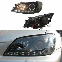 LED Headlight Assembly with Angel Eyes Lens LED DRL For Lexus IS200 IS300 1999 2000 2001 2002 2003 2004 2005