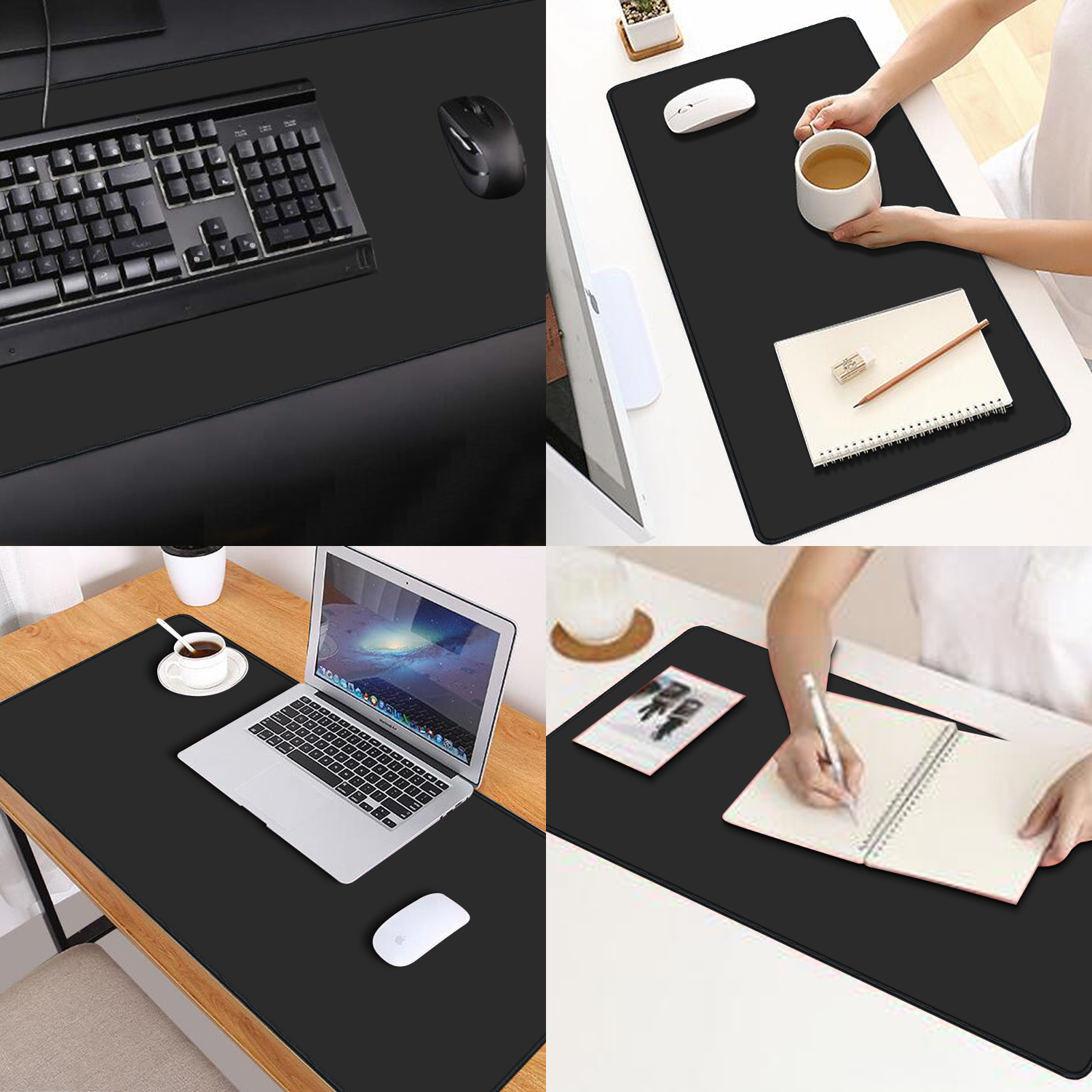 Image 2 - Extra Large Gaming Mouse Pad RGB Computer Mousepad Gamer Anti  slip Natural Rubber anime Mouse pad desk mat xl xxl 900x400mm-in Mouse  Pads from Computer