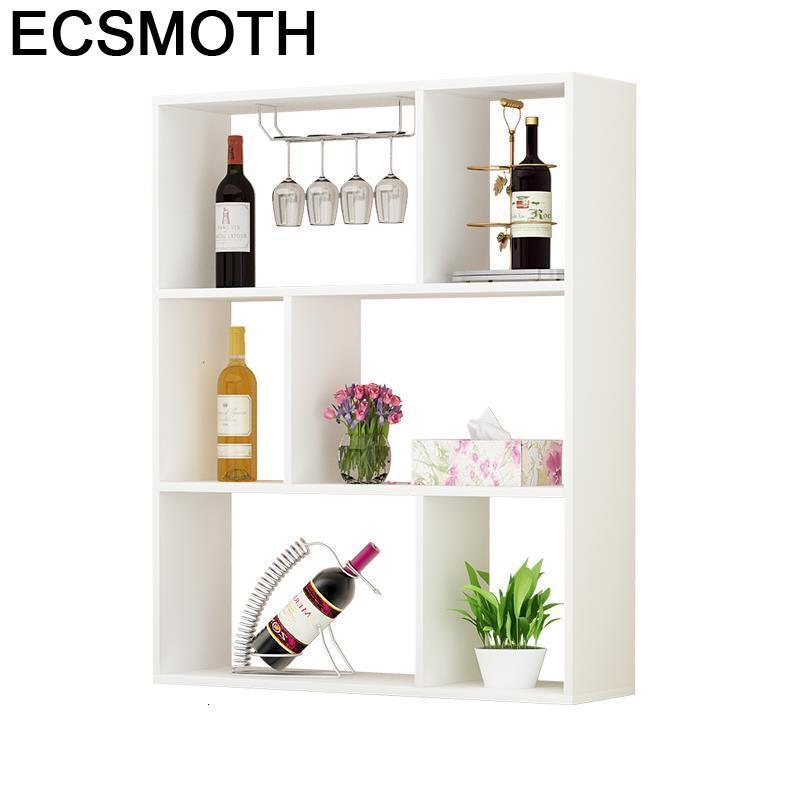 Shelves Vetrinetta Da Esposizione Sala Storage Hotel Desk Kast Rack Meble Display Mueble Commercial Furniture Bar Wine Cabinet