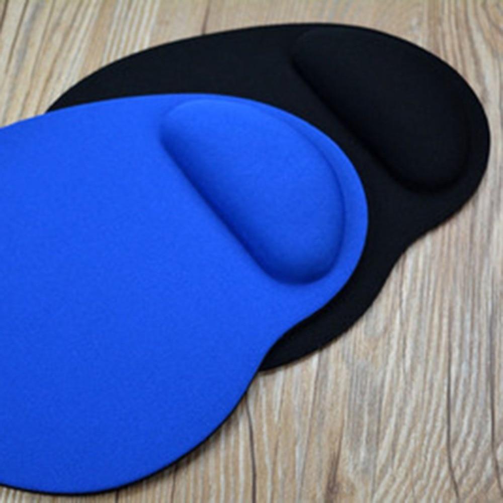 Mouse Pad Wrist Protect Optical Trackball Soft Sponge Thicken Mouse Pad Soft Comfort Mouse Pad Mat Mice