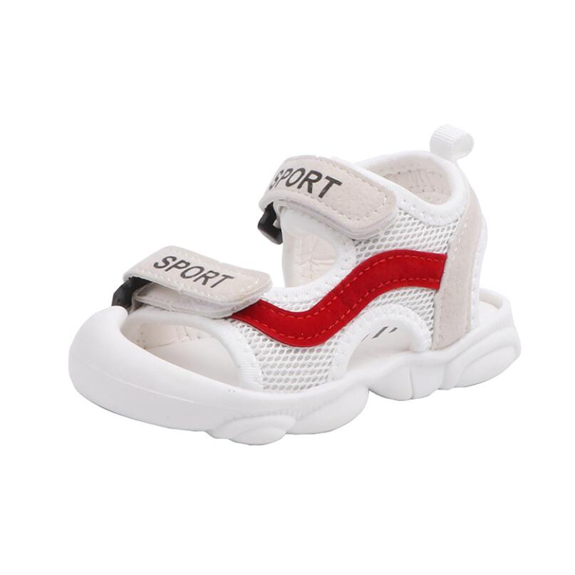 Sport Letter Summer Mesh Sandals 5