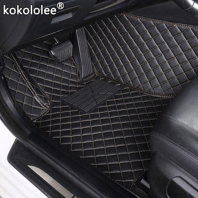 Kokololee tapis de sol de voiture sur mesure pour Skoda tous les modèles octavia fabia rapid superbe kodiaq yeti accessoires de voiture de style de voiture