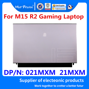 MAD DRAGON Brand laptop NEW white LCD Top Cover LCD Back Cover Assembly For Dell Alienware M15 R2 EDQ51 021MXM 21MXM AM2KH000E11