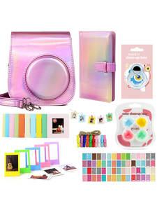 Bundle-Kit FILTERS Camera-Accessories Film-Frames Shoulder-Bag-Case Photo-Album 96-Pockets