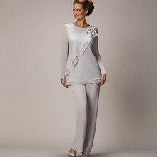simple 2020 mother of the bride pant suit vestidos de novia