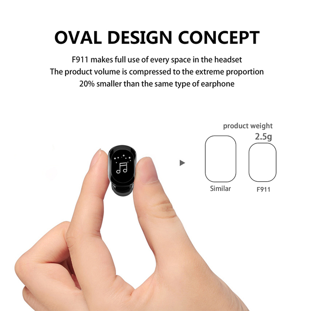 2021 Invisible Ture Wireless Earphone Noise Cancelling Bluetooth Headphone Handsfree Stereo Headset TWS Earbud With Microphone 2