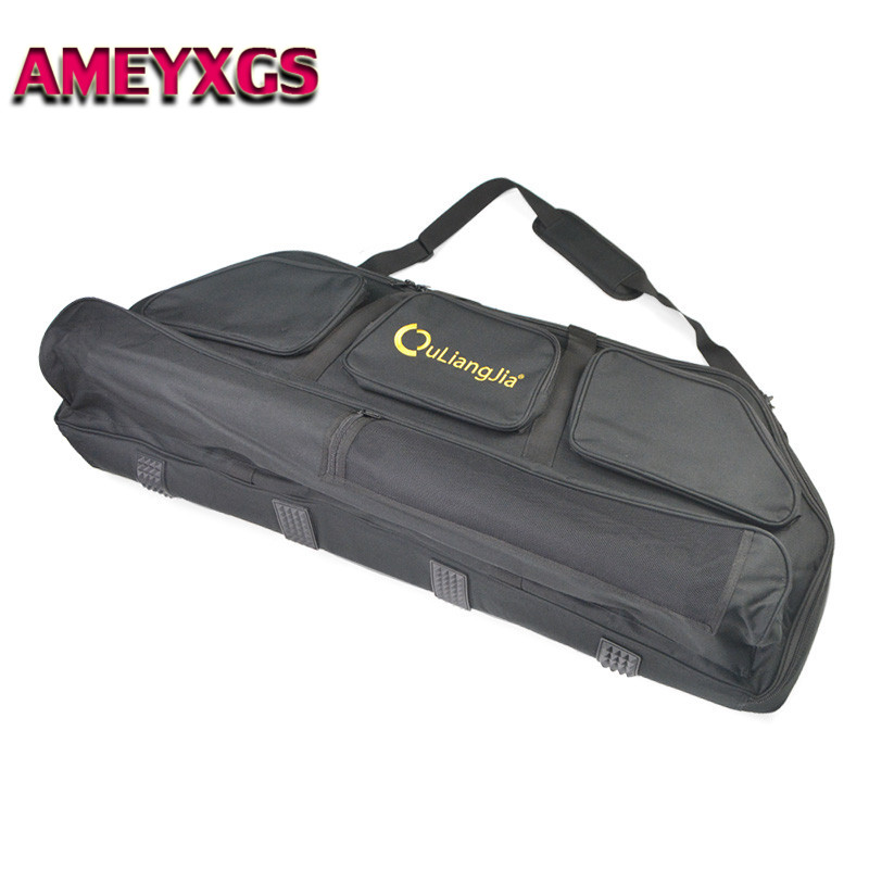 Oxford Compound Bow Case Large Bow Carry Arrow Case for Hunting Accessories