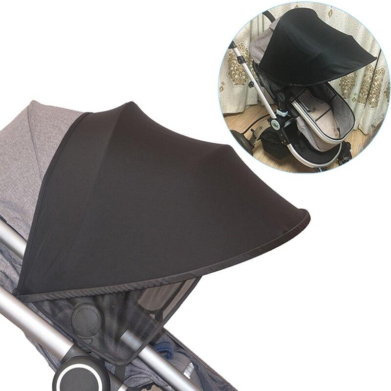 Baby Stroller Sun Visor Carriage Sun Shade Canopy Cover For Pram Stroller Accessories Car Seat Bebe Buggy Pushchair Cap Sun Hood