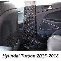 Car Door B pillars Anti Kicks Pad For Hyundai Tucson TL 2015 2016 2017 2018 Door Side Protective Mat Cushion