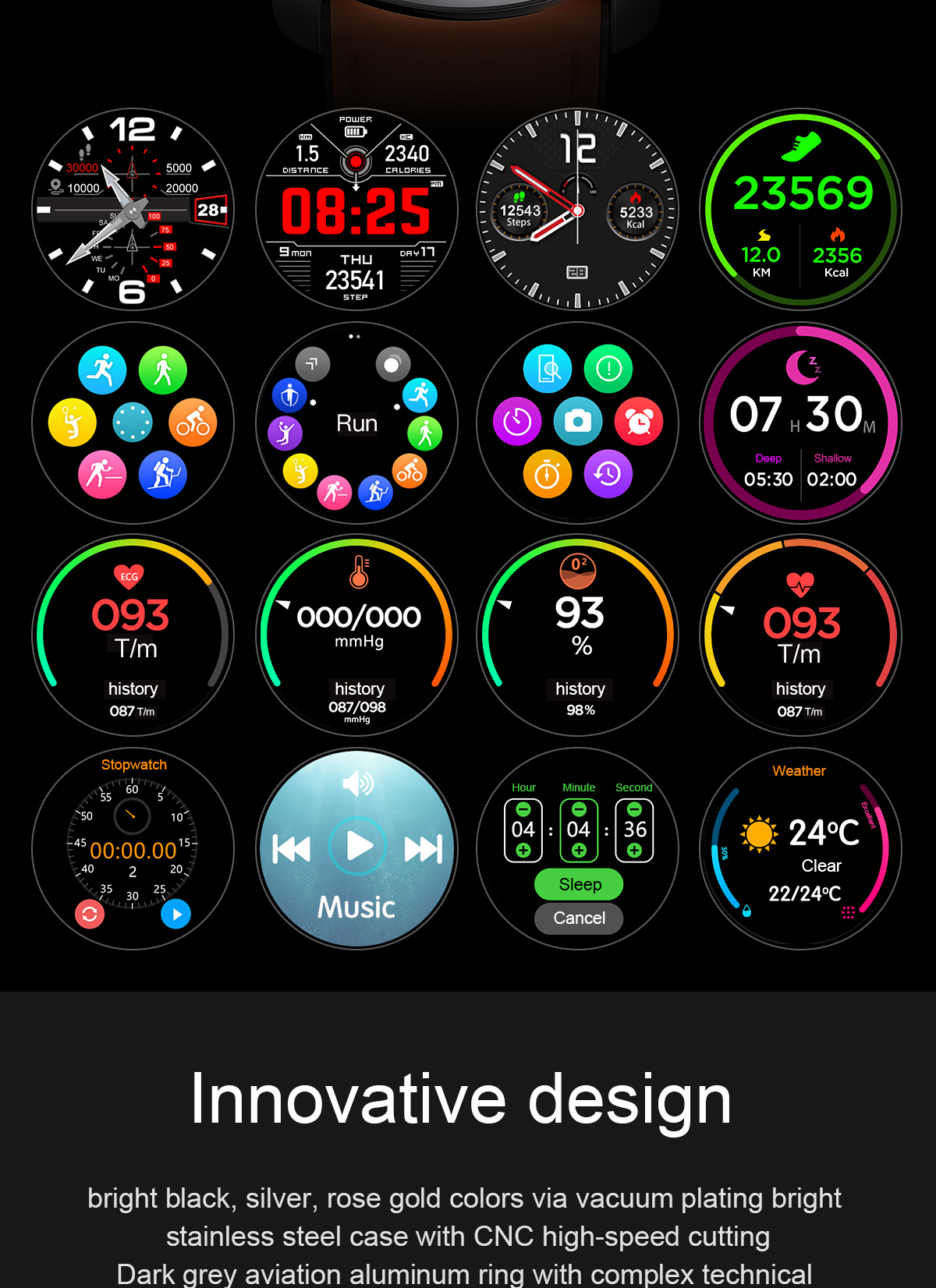 H77fb3b07c7a6443ab1c439d9882bd067z LEMFO 2020 Smart Watch Men Full Touch Screen  IP68
