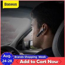 Baseus A01 kablosuz Bluetooth kulaklık Mini taşınabilir iş kulaklık Samsung iPhone için mikrofon ile sürüş Fone De Ouvid