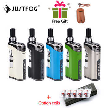 In stock E Cigarette JustFog Compact 14 Kit 1500mah built-in battery with 5PCS Justfog Coil vs Justfog Q16/Q14 Kit - DISCOUNT ITEM  0% OFF All Category