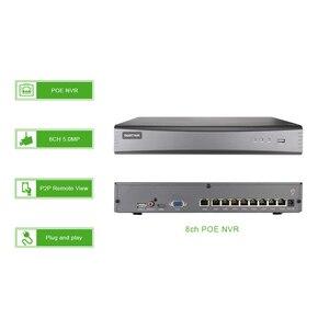 Image 3 - 8ch 5MP POE عدة H.265 نظام CCTV الأمن الذكية NVR في الهواء الطلق كاميرا IP مقاومة للمياه مراقبة إنذار فيديو P2P G. الحرفي