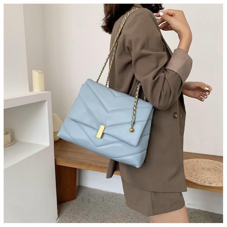 Большая вместительная женская сумка 2020 Новая модная через