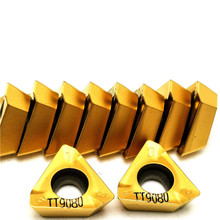 20pcs High quality 3PKT150508R M TT9080 Carbide CNC tool Machining steel Turning cutter insert 3pkt 150508 External turning tool