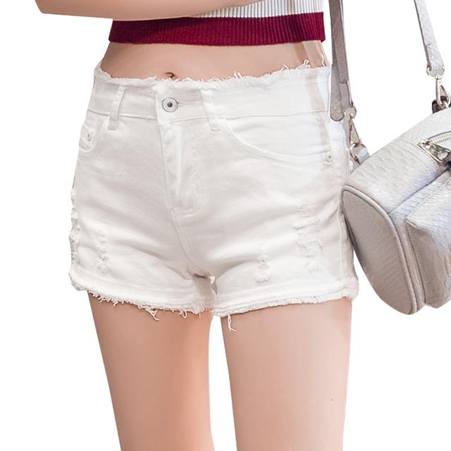 New Summer Shorts Women Casual Shorts High Waisted Shorts For Women Black Denim Shorts