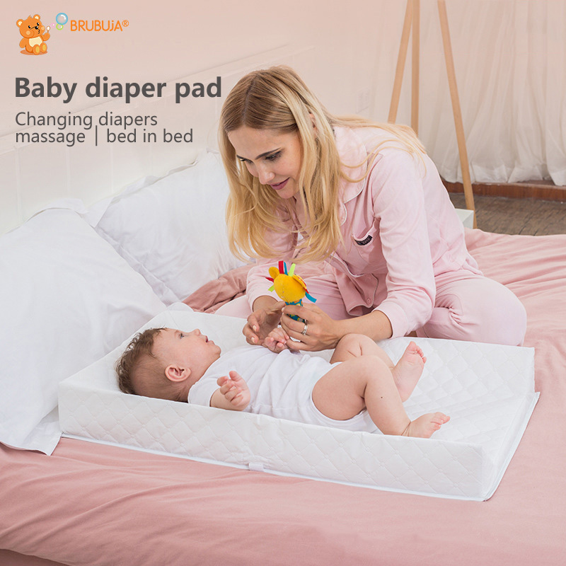 Baby Changing Table Touch Storage Baby BB Crib (Infant Bed) Waterproof Mobile Bath The Nursing Massage Tables OEM