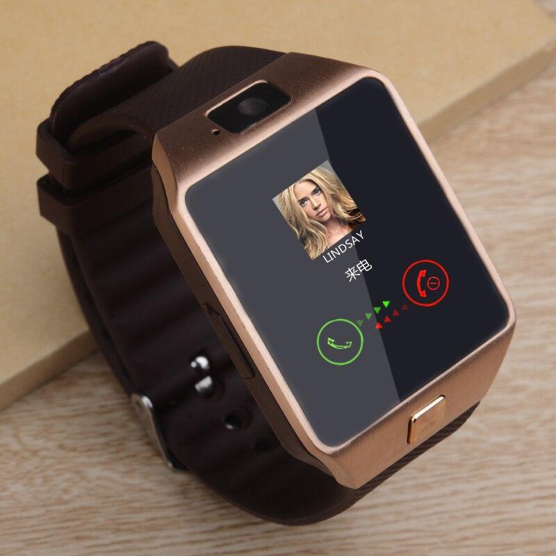 2019 Bluetooth DZ09 Smart Watch Relogio Android Smartwatch Phone Fitness Tracker Reloj Smart Watches Subwoofer Women Men Dz 09
