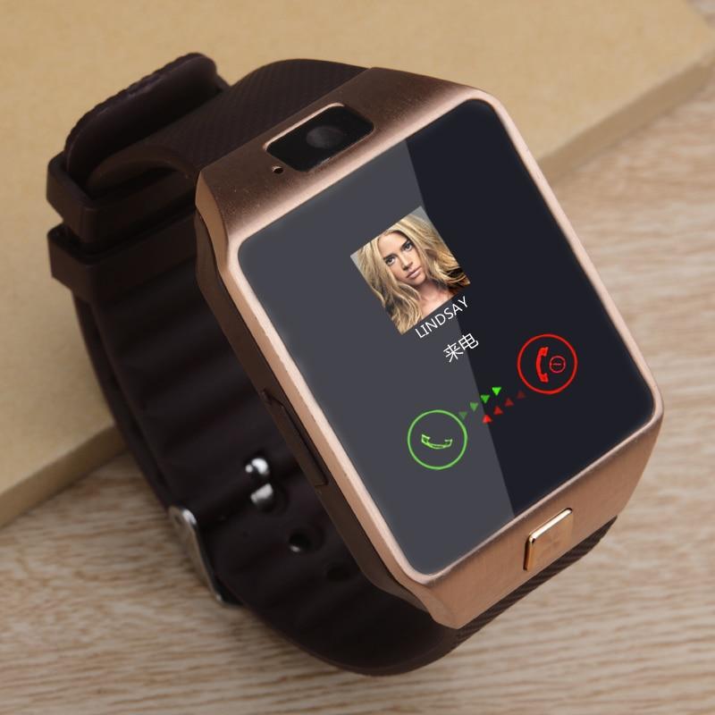 2020 Bluetooth DZ09 Smart Watch Relogio Android Smartwatch Phone Fitness Tracker Reloj Smart Watches Subwoofer Women Men Dz 09