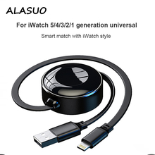 USB Cable For iPhone 11 Pro Xs Apple iPad for iWatch 5 4 3 2 1 Fast Wireless Charging Lighting Wire Cord Phone Charger Cable зарядное устройство для планшета oem 4 usb apple ipad ipad mini2 4 3 2 1 5g 5s 4 g iphone 4 plu app066