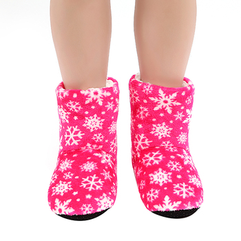 Warm Winter Slippers Family Boats Winter Snowflake Slipper Shoes Comfort Casual Boots