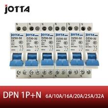 JOTTA DPN 1P+N Mini Circuit breaker MCB 10A 16A 20A 25A 32A