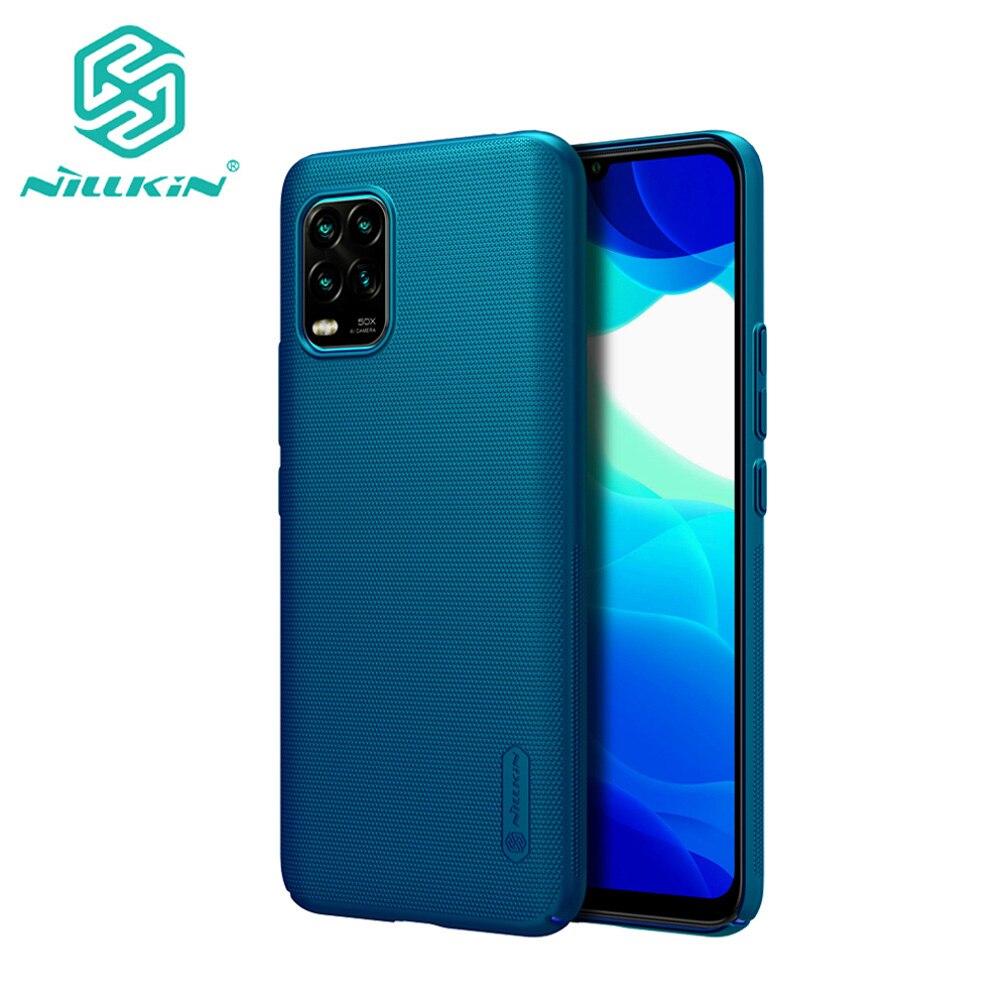 Pour Xiaomi Mi 10 Youth 5G étui Nillkin Super givré bouclier dur PC téléphone protecteur couverture arrière pour Xiaomi Mi 10 Lite 5G