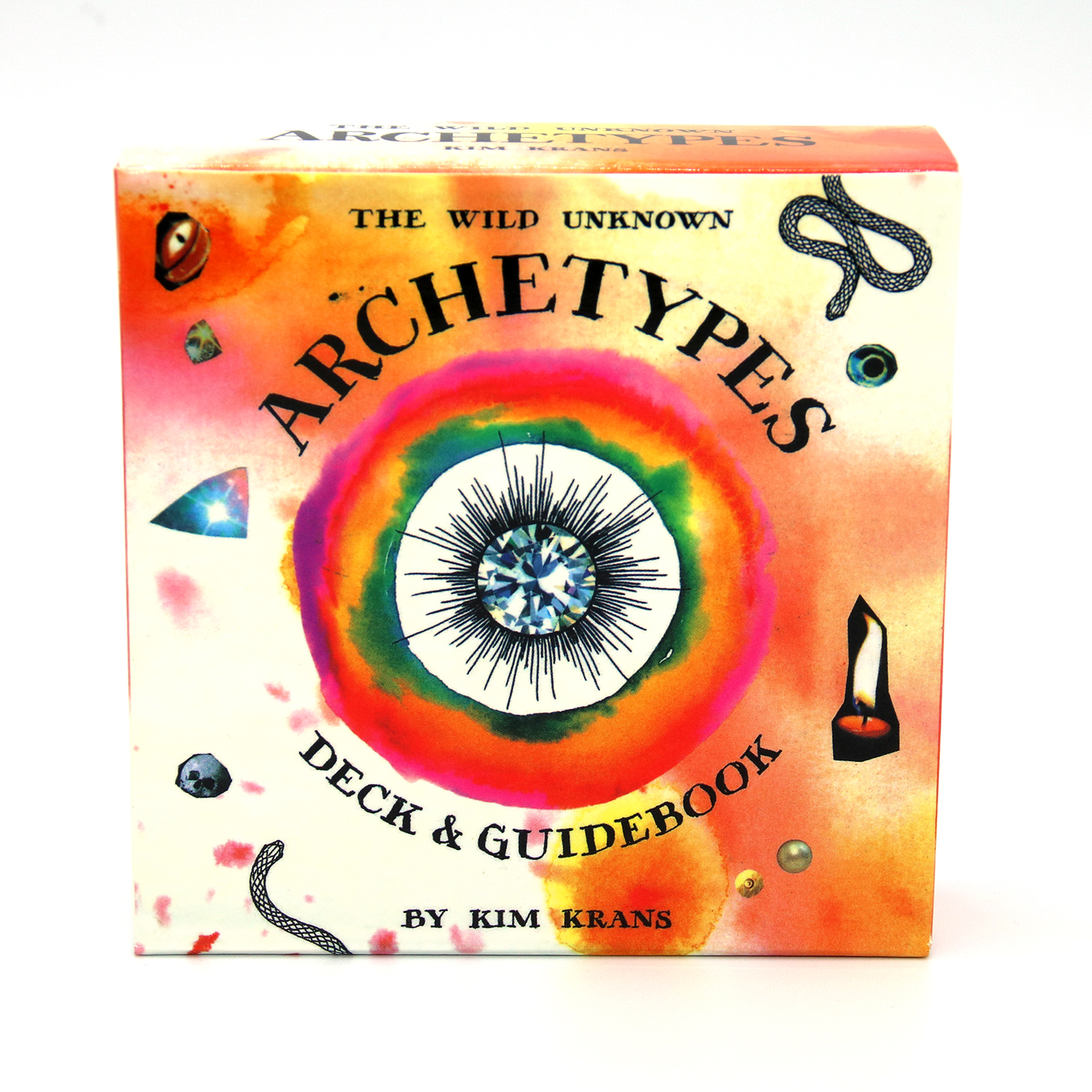 78pcs The Wild Unknown Archetypes Deck Guidebook By Kim Krans Circular Oracle Tarot Deck Card Game Guidance Fate Divination Card