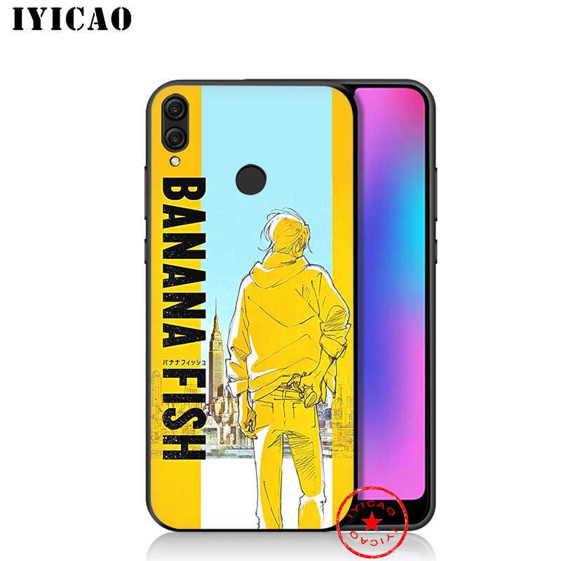 IYICAO バナナ魚アニメ Huawei 社の名誉 20 10 9 × 9 8C 8 × 8 7X 7C 7A 6A ノヴァ 5i 4 3i 2 2i Lite プロビュー 20 注 10