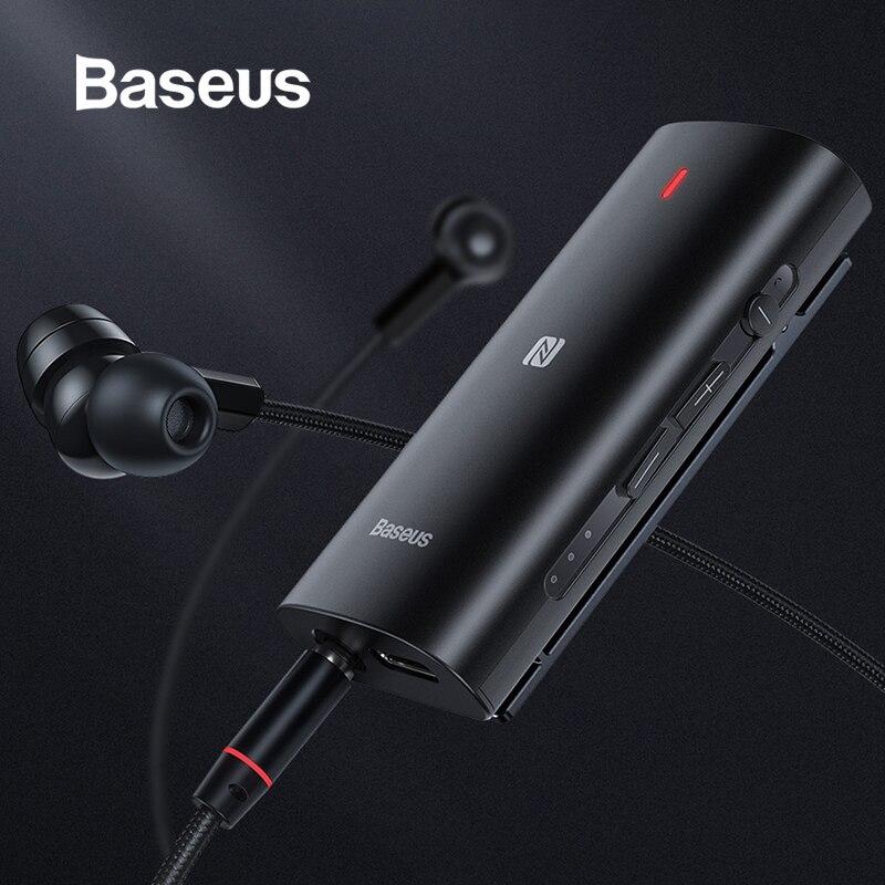 Baseus Bluetooth 5.0 Receiver 3.5mm APTX LL AUX Adapter For Headphone  Music Wireless Bluetooth 3.5 Jack Audio Receiver