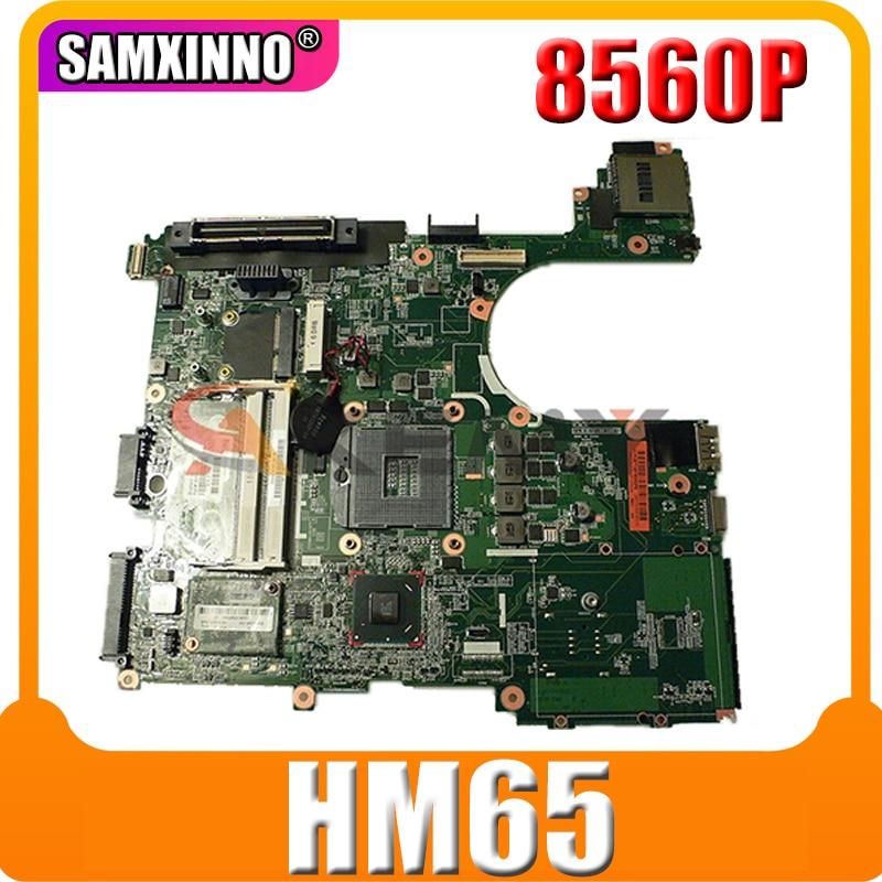 Материнская плата AKemy 654129-001 654129-501 для ноутбука HP Probook 8560P 6560B 6050A2466401-MB-A04 HM65, материнская плата