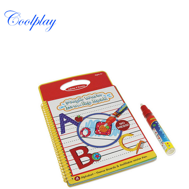 Children Learn To Draw Coloring Book Graffiti Children Manual Environmentally Friendly Non-toxic Water Write Drawing Book