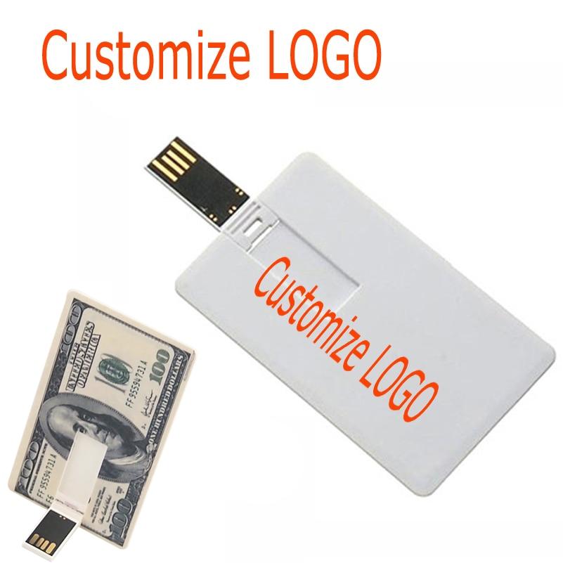 32GB Credit Card Model Flash Drive Memory USB 2.0 Pendrive Stick 16GB Lot th