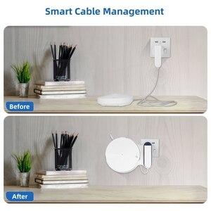 Image 5 - STANSTAR soporte de pared para tp link Deco M9 Plus sistema WiFi de malla para todo el hogar, soporte de soporte resistente, sin cables desordenados