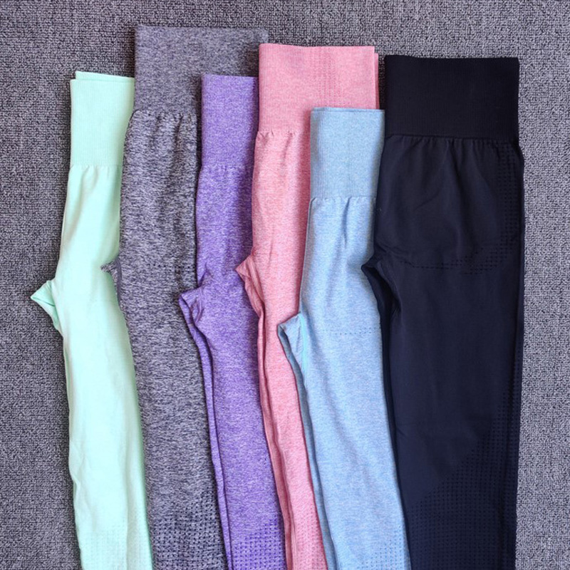 Seamless High Waist Gym Leggings Push Up Leggins Sport Women Compression Tights Fitness Running Yoga Pants Energy Leggings in Yoga Pants from Sports Entertainment