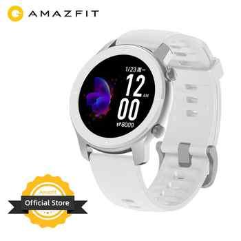 En Stock Version mondiale nouvelle Amazfit GTR 42mm montres pour femmes 5ATM Smartwatch 12 jours batterie contrôle de la musique pour téléphone Android IOS
