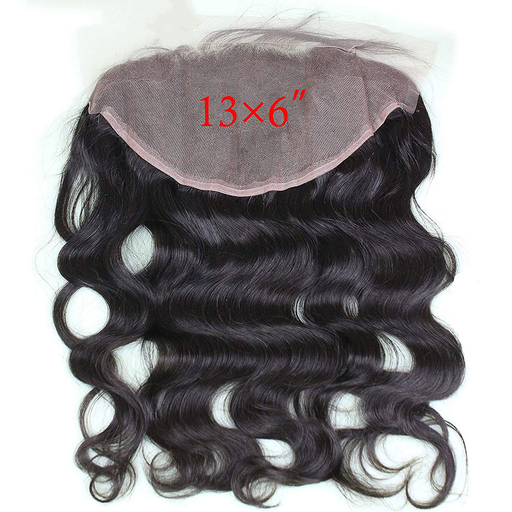 Eseewigs 13x6 Lace Frontal Closure Body Wave Ear To Ear Lace Frontal Closure Brazilian Remy Human Hair Baby Hair Pre Plucked