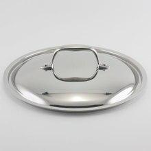 24 см 18/10 крышка кастрюли и сковороды из нержавеющей стали зеркальная отделка крышка из нержавеющей стали