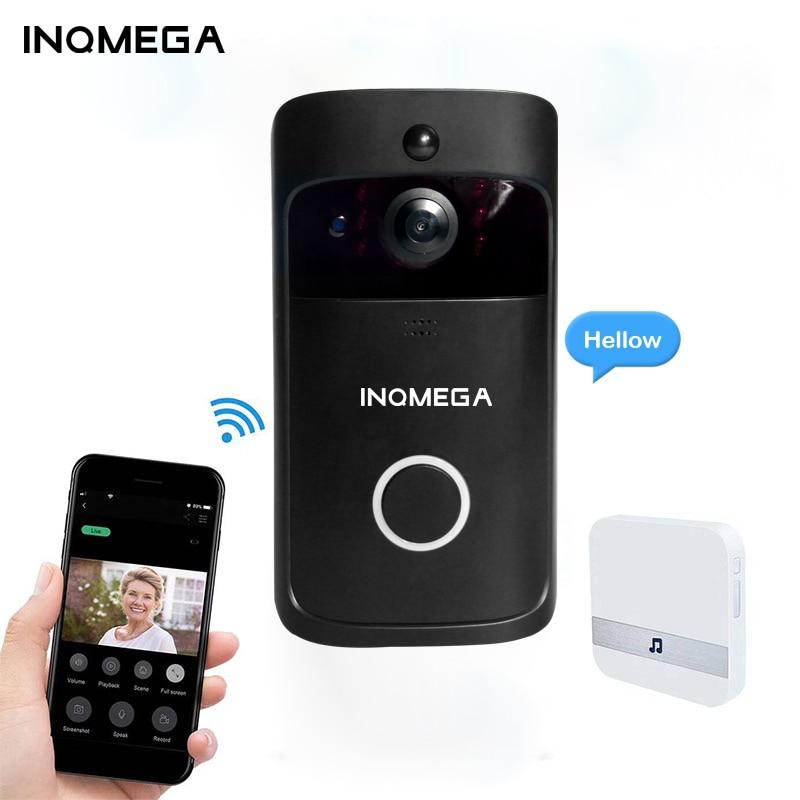 INQMEGA  Smart IP Video Intercom  WI-FI Video Door Phone Wifi Wireless WIFI Doorbell Camera For Apartment Door Bell Ring For Pho