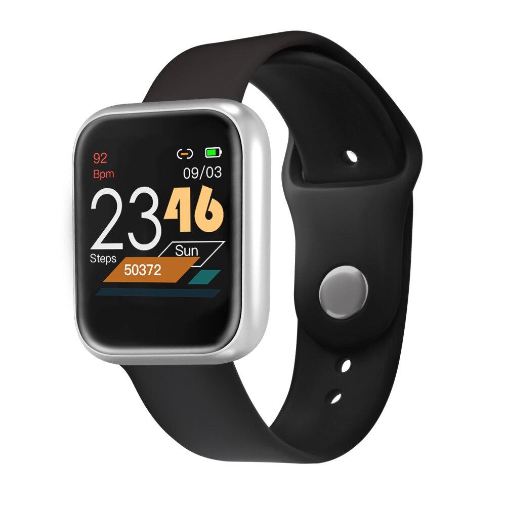 Smartwatch P70S Women Smart Watch Men Heart Rate Monitor Blood Pressure Oxygen Call Message Reminder IP68 Waterproof VS B